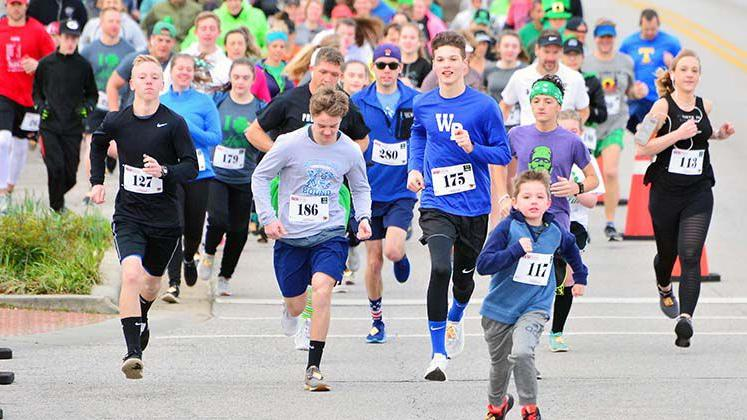 2019 St. Paddy's On Main and Strides of March 5K In Heflin