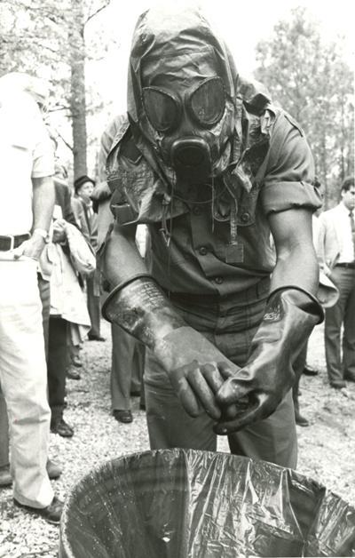 Fort McClellan Chemical Training