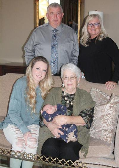 Five generations of the Brown family of Ashville
