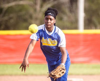Faith Johnson softball