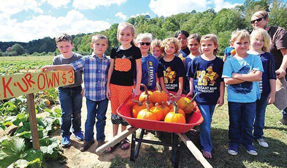 Bennett Farms  entertains hundreds of kids each year