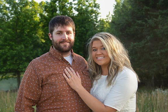 Kelsey Lott and Colt Gilpin