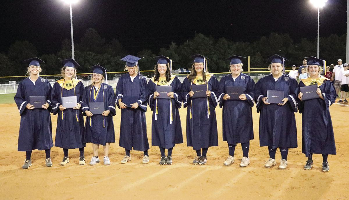 Nine Moody softball seniors