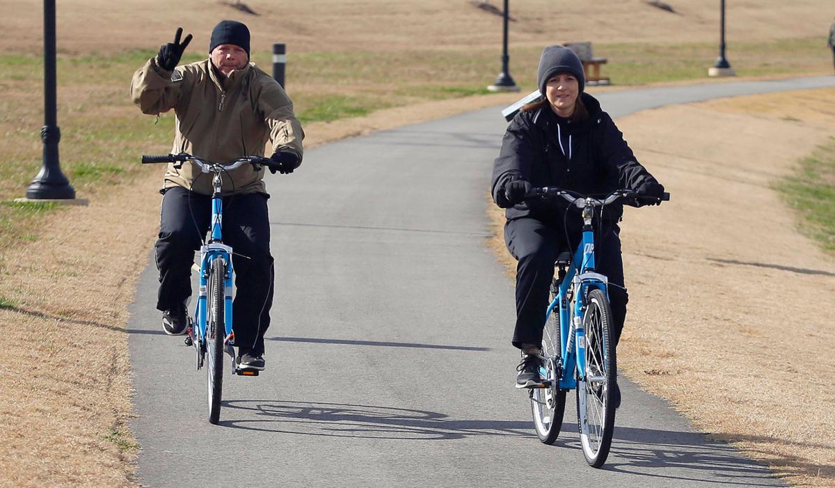 We got bikes!