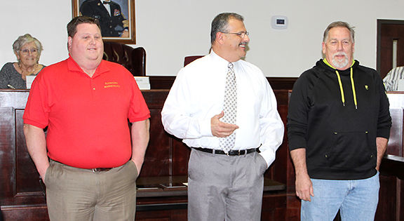 Ford and Hurst are recognized by the City of Weaver