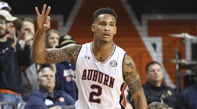 Auburn Basketball Tigers Rip Vandy To Improve To 21 2