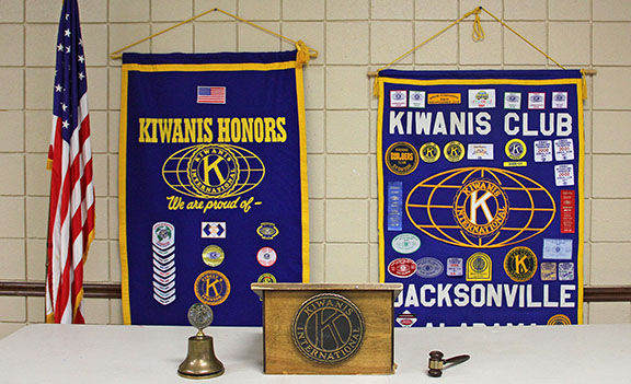 KIWANIS CLUB DISBANDS