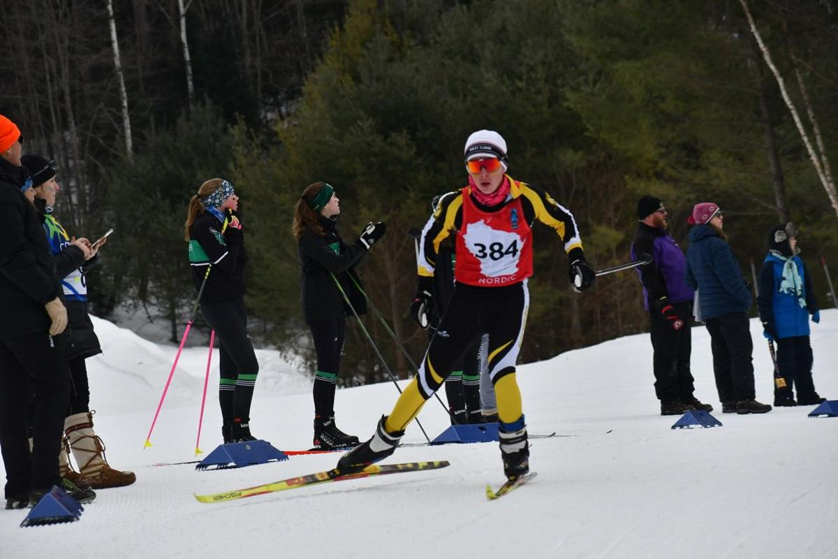 Hayward skiers compete in state contest