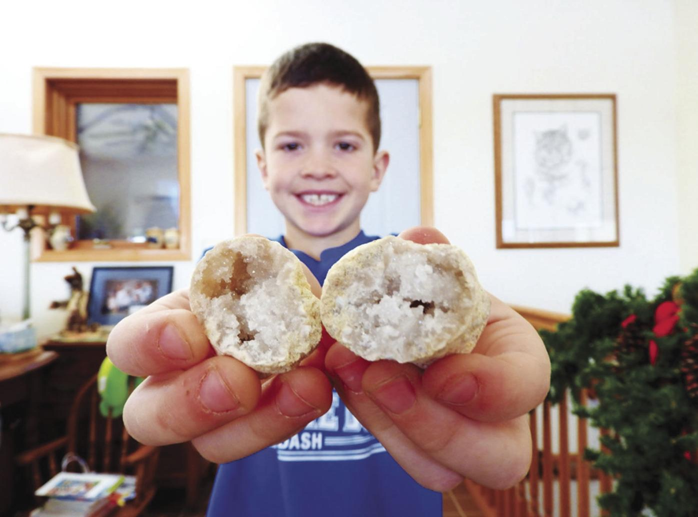 Natural Connections: Rocks in Our Socks, Geodes
