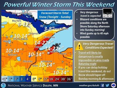 Weather for Friday through Sunday, Nov. 29-Dec. 1