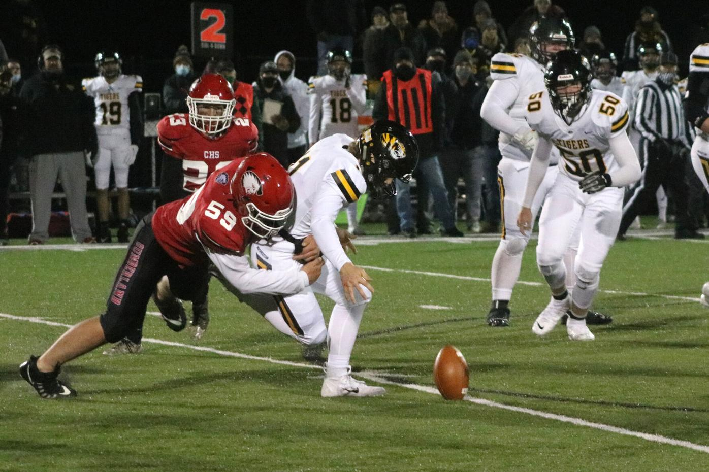 Cumberland vs. Northwestern football 10-16-20