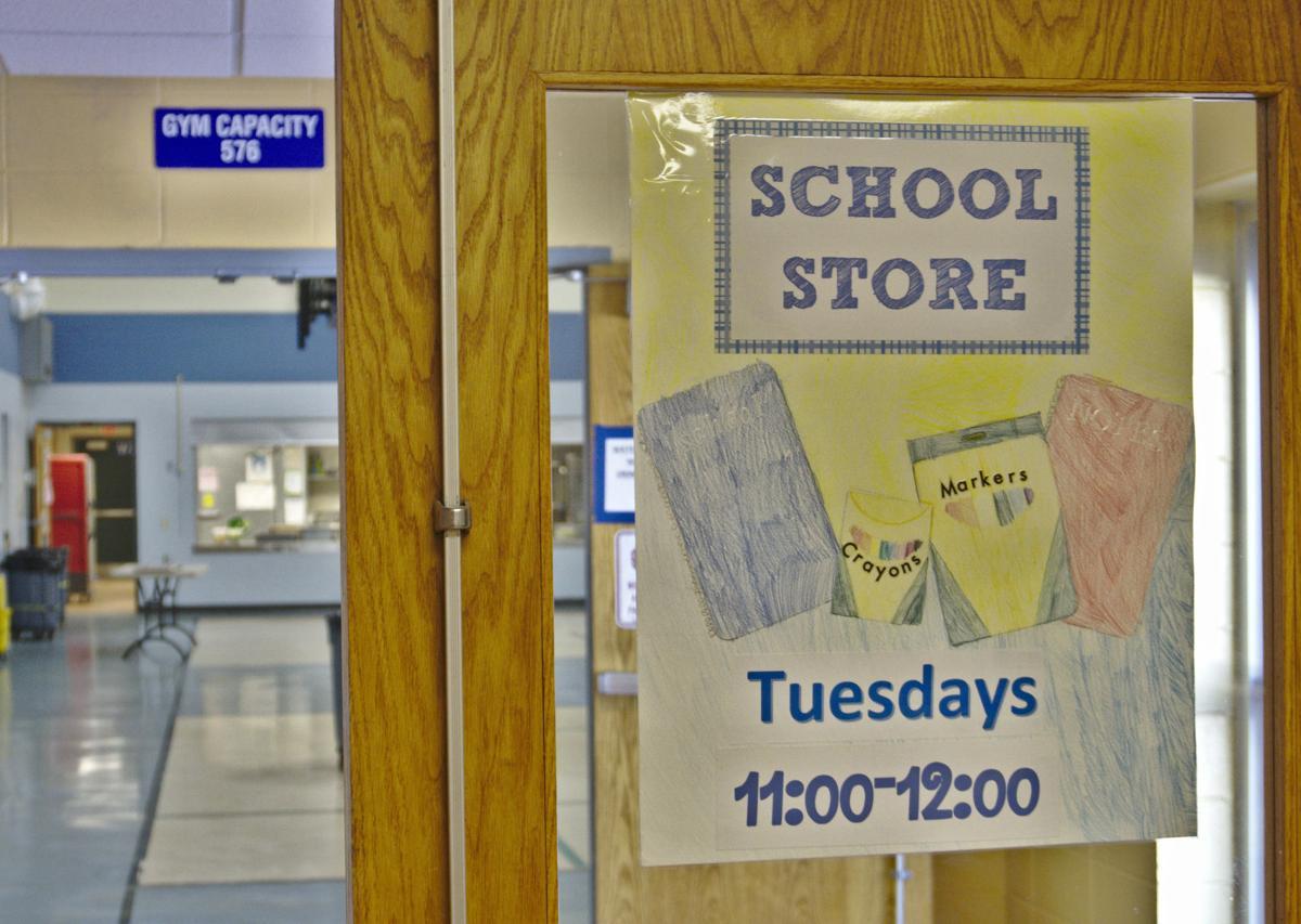 School Market Sign