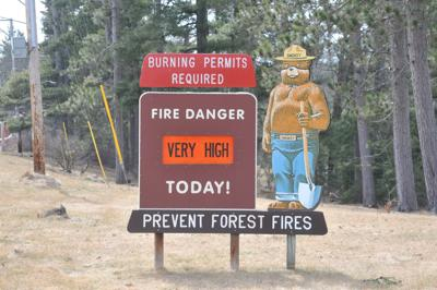 Fire danger very high