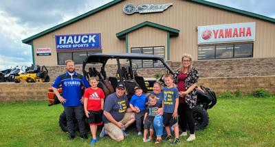 Boy's Make-A-Wish granted at Hauck Power Sports