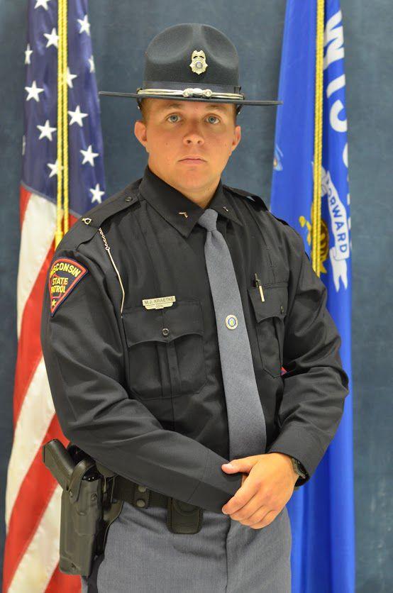 shell lake man and spooner grad sworn in as state patrol