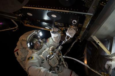 Winter astronaut 1