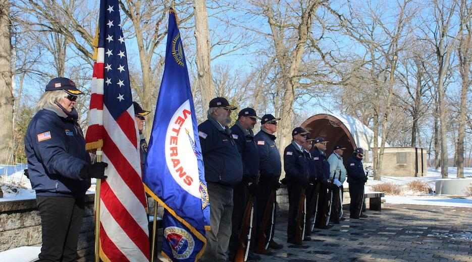 Honor Guard obseves Veterans Day