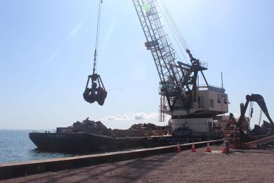Coal Dock load