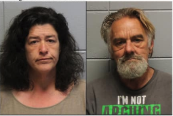Two arrested on meth charges