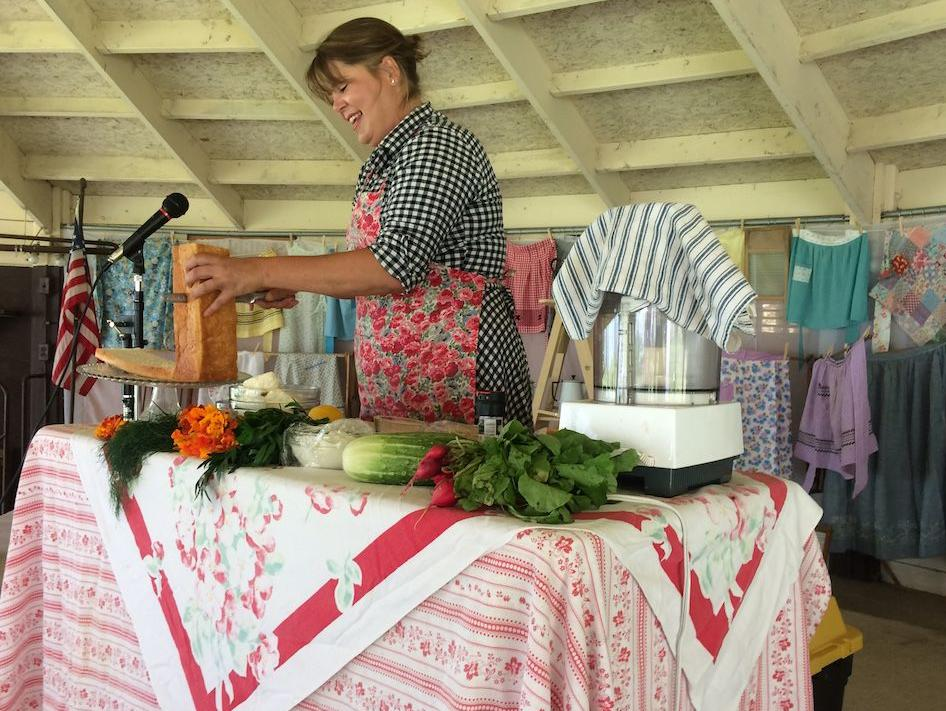 'Around the Farm Table' TV host at Pioneer Village