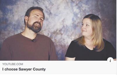 'I choose Sawyer County' video