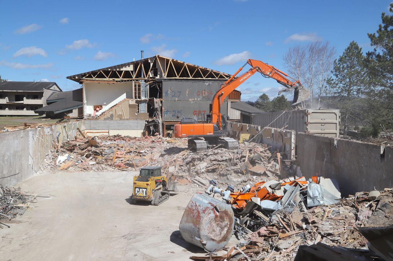 Telmark demolition