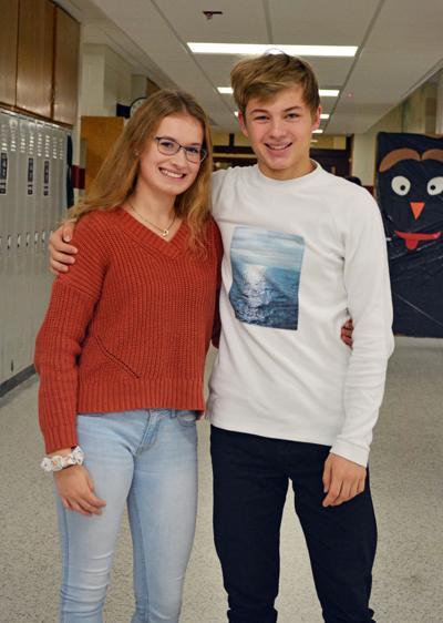 German students visit Prentice