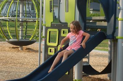 Jackie's Field playground gets modern-mom update
