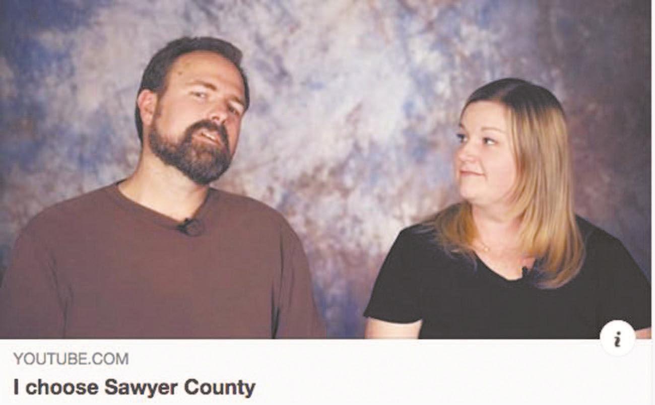 'I choose Sawyer County'