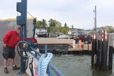 Mad island ferry