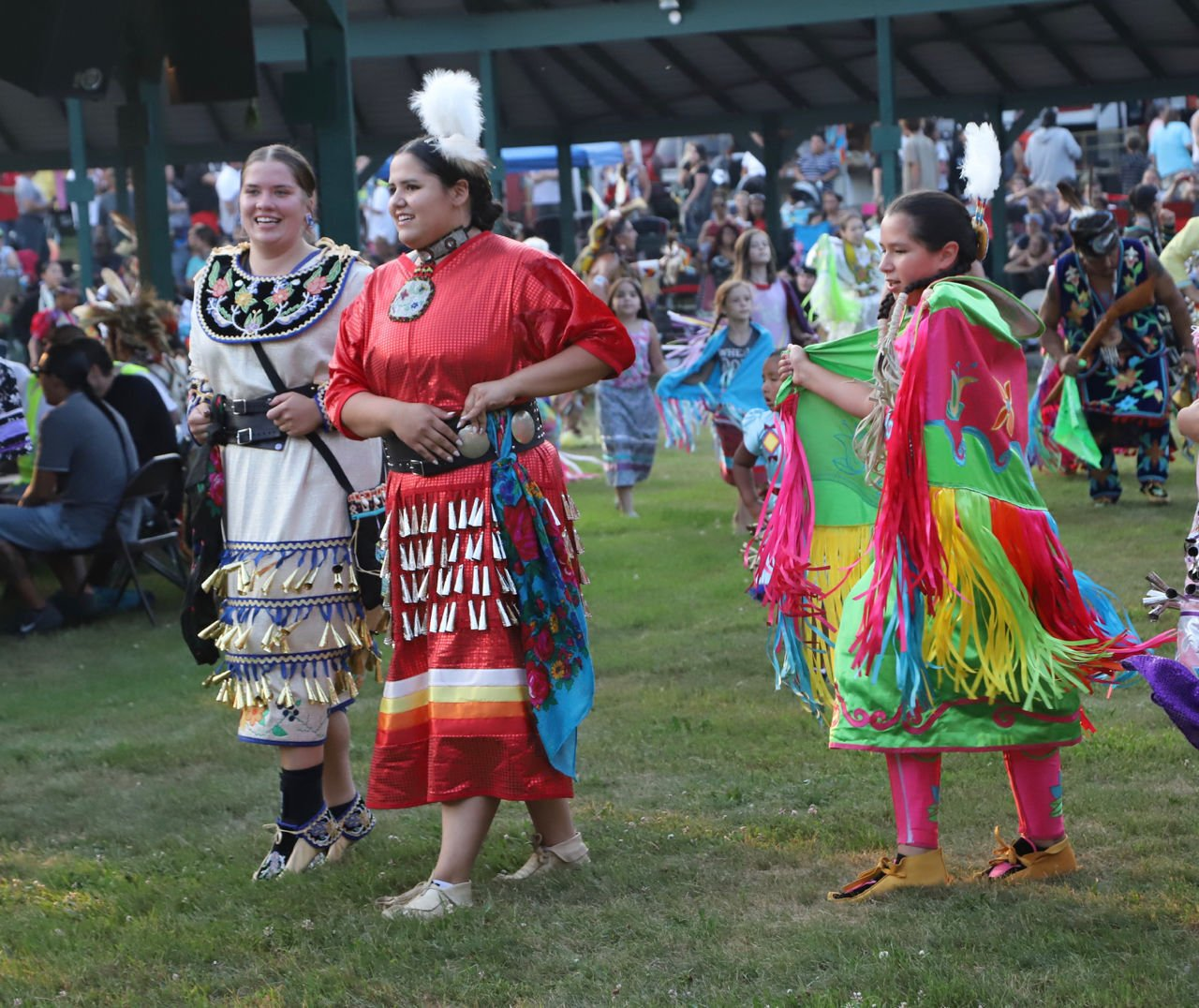 At the Pow Wow