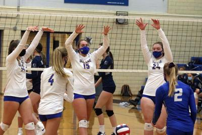 Rice Lake volleyball vs. Hudson 10-5-20