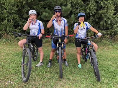 Mountain biking team