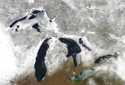 Warming Great Lakes
