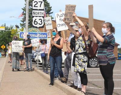 Black Lives Matter protest in Hayward