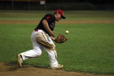 Brill Millers at Haugen Knights baseball 7-18-20