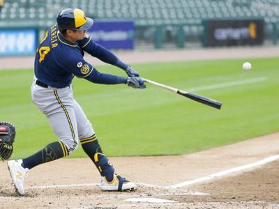 Brewers Tigers Baseball
