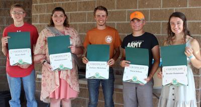 Barron County 4-H graduates recognized