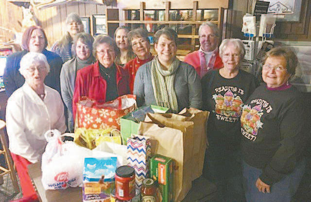 Friends of the Mercer Library donate to food pantry | | apg