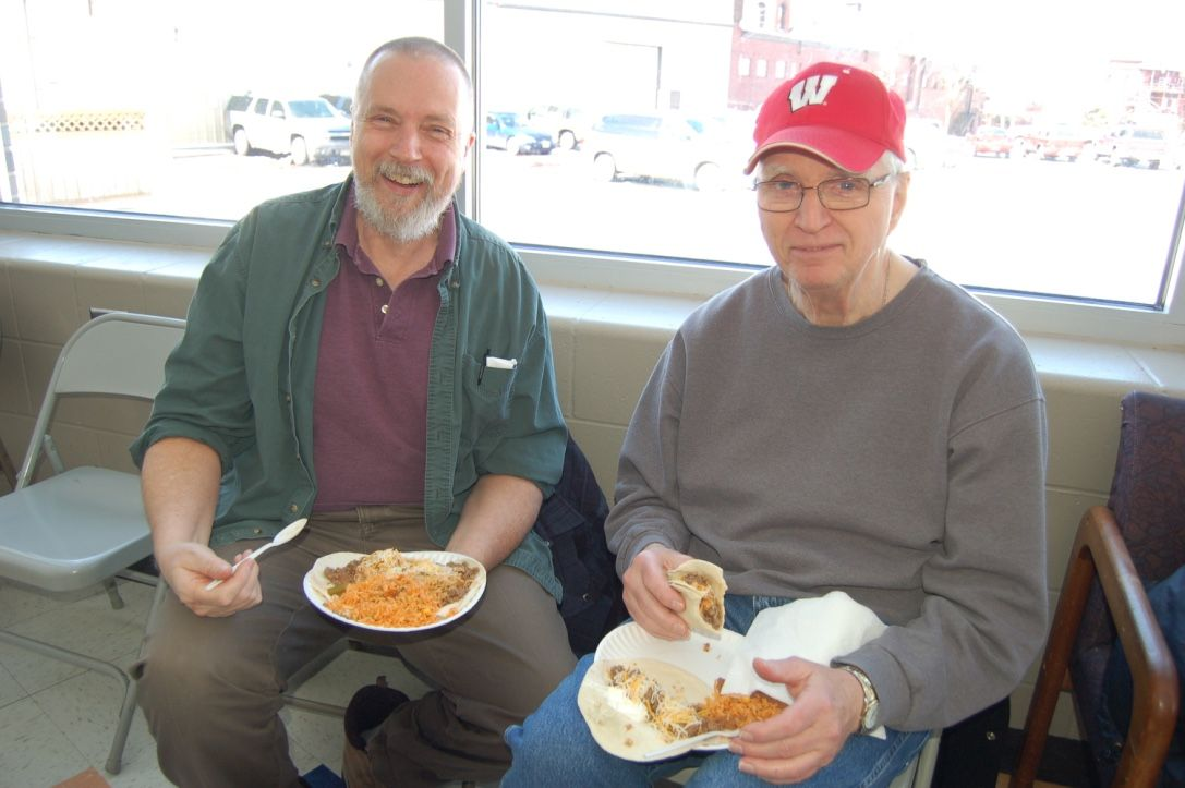 Taco feed creates strong sense of community