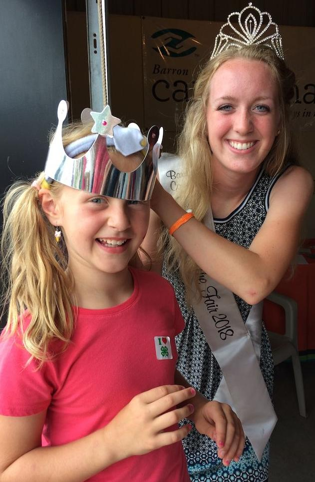 Future kings and queen attend Cookies & Crowns