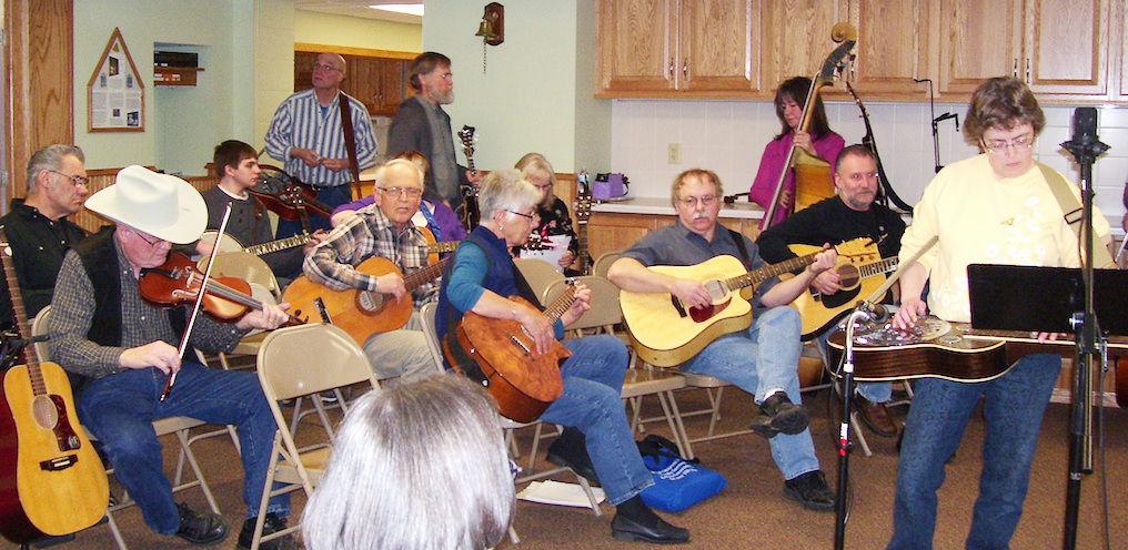 Bluegrass Gosepel Jams begin