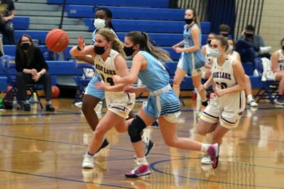 Rice Lake girls basketball vs. Eau Claire North 1-11-21