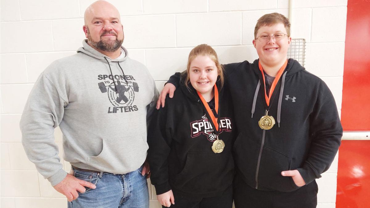 Powerlifters Cole and Allison Cook