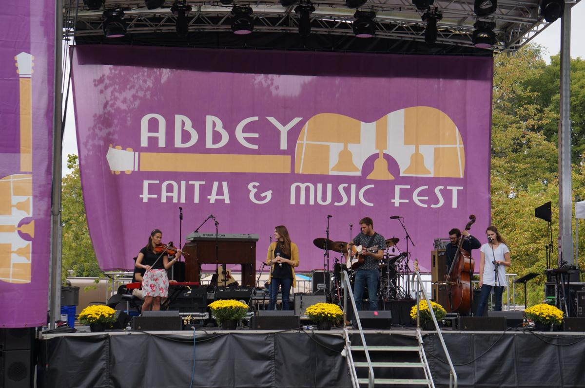 A profound song: Abbey Faith & Music fest.JPG