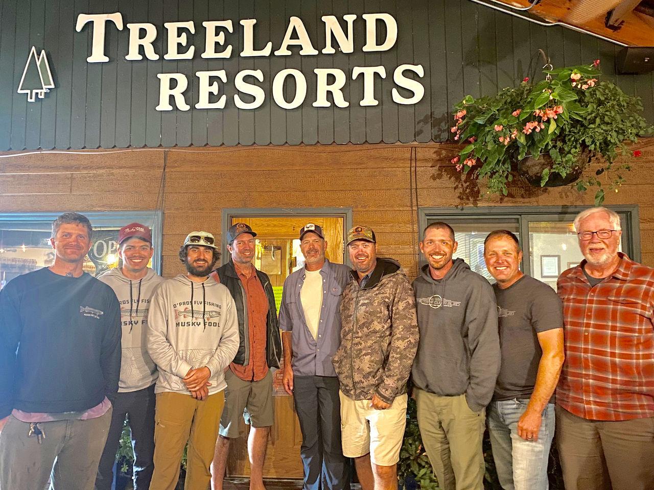 Flyfishing tourney winners
