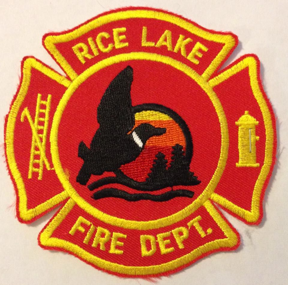 Rice Lake Fire logo