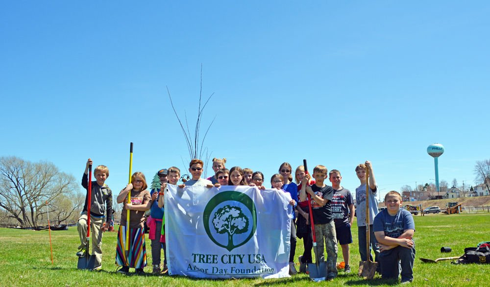 Arbor Day celebrated in Phillips