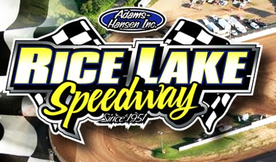 Rice Lake Speedway logo