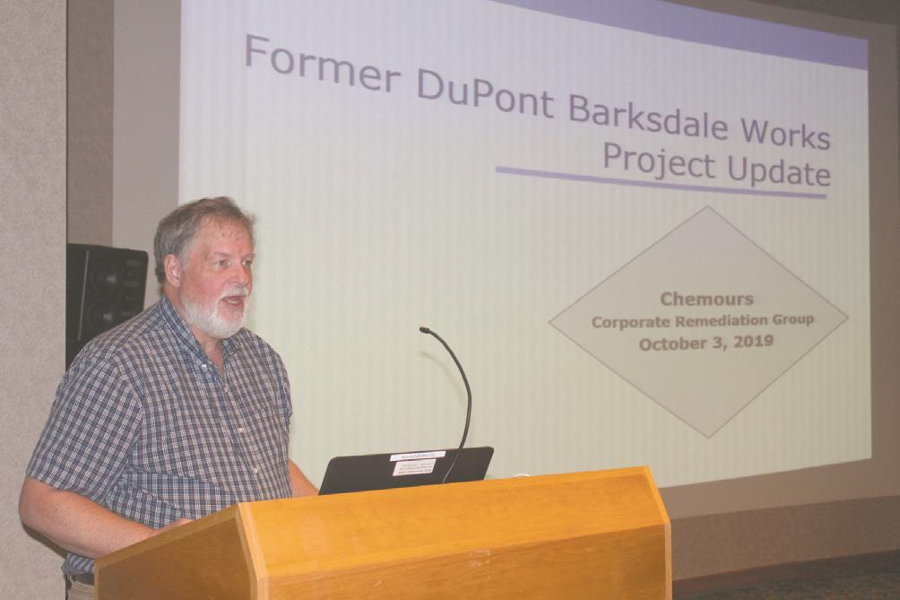 Community updated on Barksdale Works remediation efforts
